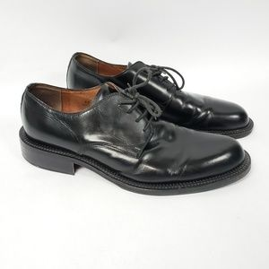 Alfani black Dress Shoes Derby Leather Italy 12M